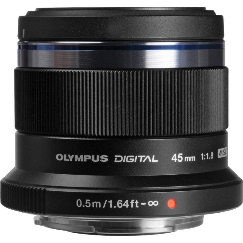OLYMPUS M.ZUIKO DIGITAL 45mm F1.8 BLACK | Fcf Forniture Cine Foto