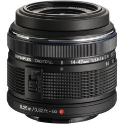 OLYMPUS M.ZUIKO DIGITAL 14-42mm F3.5-5.6 II R BLACK | Fcf Forniture Cine Foto
