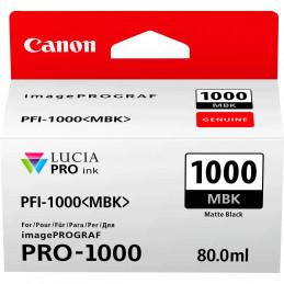 CANON PFI-1000MBK MATTE BLACK - Fcf Forniture Cine Foto