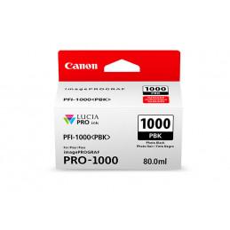 CANON PFI-1000PBK PHOTO BLACK - Fcf Forniture Cine Foto