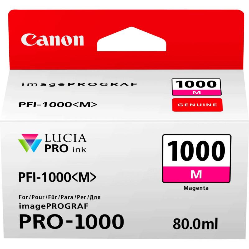 CANON PFI-1000M MAGENTA - Fcf Forniture Cine Foto
