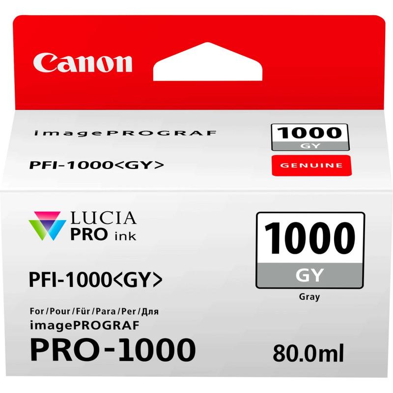CANON PFI-1000GY GRAY - Fcf Forniture Cine Foto