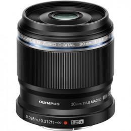 OLYMPUS M.ZUIKO DIGITAL ED 30mm F1:3.5 MACRO - GARANZIA POLYPHOTO ITALIA | Fcf Forniture Cine Foto