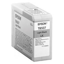 EPSON T8507 LIGHT BLACK   Fcf Forniture Cine Foto