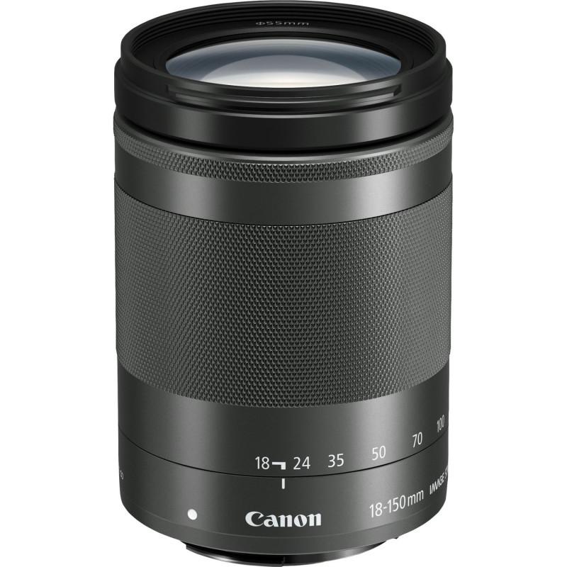 CANON EF-M 18-150mm F3.5-6.3 IS STM BLACK | Fcf Forniture Cine Foto
