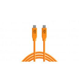 TETHERTOOLS CUC15-ORG USB-C TO USB-C 4.5mt | Fcf Forniture Cine Foto