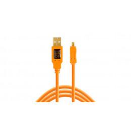TETHERTOOLS CU8015 USB 2.0 A TO MINI B 8 PIN 4.5mt | Fcf Forniture Cine Foto