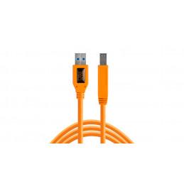 TETHERTOOLS CU5460ORG USB 3.0 MALE A TO MALE B 4.5mt | Fcf Forniture Cine Foto