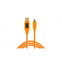 TETHERTOOLS CU5451 USB 2.0 MALE TO MINI-B 5 PIN 4.5mt | Fcf Forniture Cine Foto