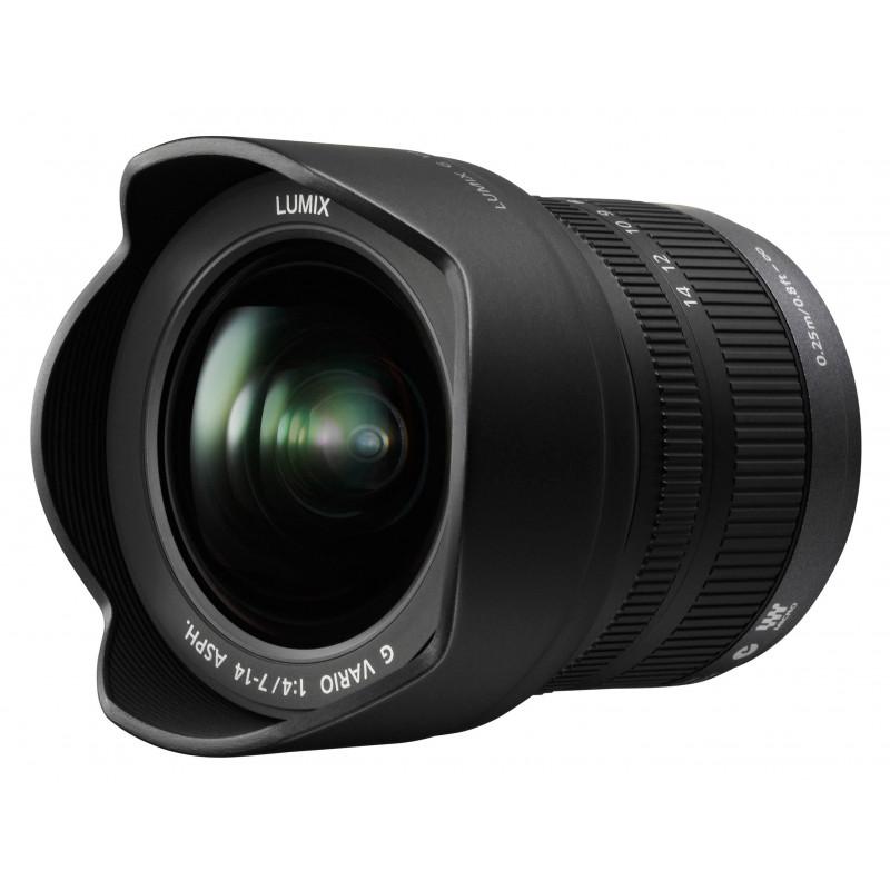 PANASONIC LUMIX G VARIO 7-14mm F4.0 | Fcf Forniture Cine Foto