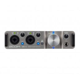 ZOOM UAC-2 INTERFACCIA AUDIO/MIDI 2IN/2OUT USB3.0 | Fcf Forniture Cine Foto