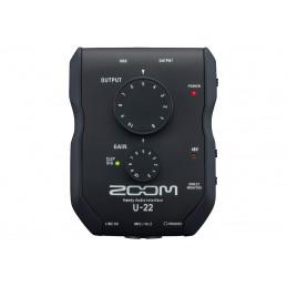 ZOOM U-22 INTERFACCIA AUDIO USB 2IN/2OUT | Fcf Forniture Cine Foto