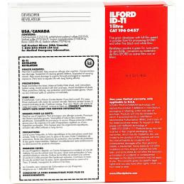 ILFORD ID-11, RIVELATORE IN POLVERE, 1 LT   ILFORD