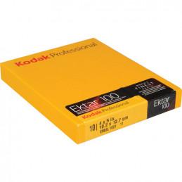 KODAK EKTAR 100 10.2X12.7 CM - 4X5 - 10 PELLICOLE | Fcf Forniture Cine Foto