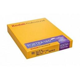 KODAK PORTRA 160 10.2X12.7 CM - 4X5 - 10 PELLICOLE | Fcf Forniture Cine Foto