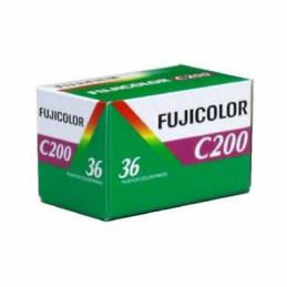 FUJICOLOR C200 ASA 135/36 RULLINO SINGOLO   FUJIFILM