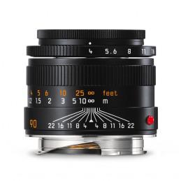 LEICA MACRO-ELMAR-M 90mm F4, NERO ANODIZZATO - GARANZIA LEICA ITALIA | Fcf Forniture Cine Foto