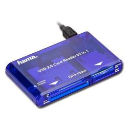 HAMA LETTORE USB 2.0 35 IN 1 | Fcf Forniture Cine Foto