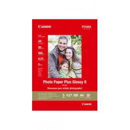 CANON PHOTO PAPER PLUS GLOSSY II A4 | Fcf Forniture Cine Foto