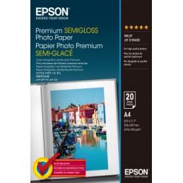 EPSON 10x15 PREMIUM SEMIGLOSS PHOTO PAPER 50 FOGLI | Fcf Forniture Cine Foto