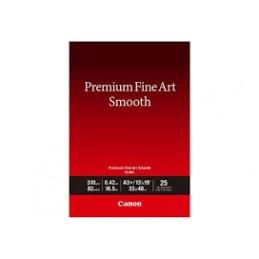 CANON A3+ PREMIUM FINE ART SMOOTH FA-SM1 25 FOGLI | Fcf Forniture Cine Foto