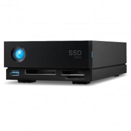 LACIE 1BIG DOCK SSD USB 3.1-C & THUNDERBOLT 3 WITH RESCUE 4TB - GARANZIA LACIE 5 ANNI | Fcf Forniture Cine Foto