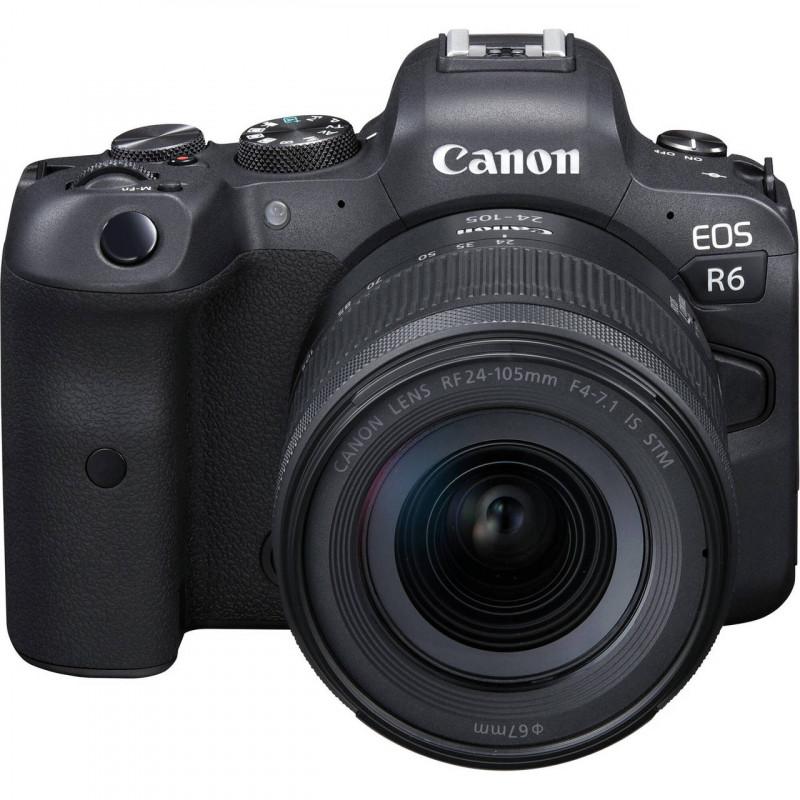 CANON EOS R6 + RF24-105mm F4-7.1 IS STM - GARANZIA CANON ITALIA | Fcf Forniture Cine Foto