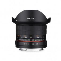 SAMYANG 12mm F2.8 ED AS NCS FISHEYE NIKON - GARANZIA FOWA ITALIA | Fcf Forniture Cine Foto