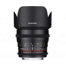 SAMYANG 50mm T1.5 VDSLR NIKON | Fcf Forniture Cine Foto
