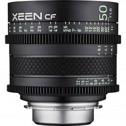 SAMYANG XEEN CF 50mm T1.5 CINE CANON | Fcf Forniture Cine Foto