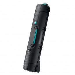 HPRC 6500W WHEELED TRIPOD KIT BLACK/BLUE BASSANO | Fcf Forniture Cine Foto