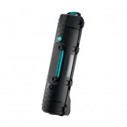 HPRC 6400W WHEELED TRIPO KIT BLACK/BLUE BASSANO | Fcf Forniture Cine Foto