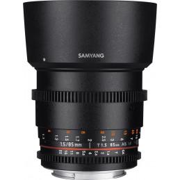 SAMYANG 85mm T1.5 VDSLR NIKON | Fcf Forniture Cine Foto