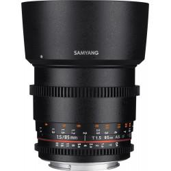SAMYANG 85mm T1.5 VDSLR SONY E-MOUNT | Fcf Forniture Cine Foto