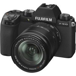 FUJIFILM X-S10 BLACK + XF 18-55mm - GARANZIA FUJIFILM ITALIA | Fcf Forniture Cine Foto