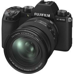 FUJIFILM X-S10 BLACK + XF 16-80mm - GARANZIA FUJIFILM ITALIA | Fcf Forniture Cine Foto