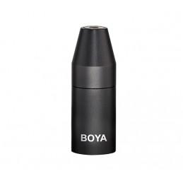 BOYA 35C-XLR PRO 3.5MM MINI JACK TO XLR CONVERTER | Fcf Forniture Cine Foto