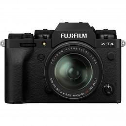 FUJIFILM X-T4 BLACK + XF 18-55mm - GARANZIA FUJIFILM ITALIA | Fcf Forniture Cine Foto
