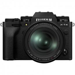 FUJIFILM X-T4 BLACK + XF 16-80mm - GARANZIA FUJIFILM ITALIA | Fcf Forniture Cine Foto