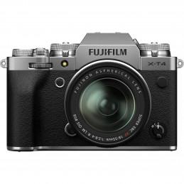 FUJIFILM X-T4 SILVER + XF 18-55mm - GARANZIA FUJIFILM ITALIA | Fcf Forniture Cine Foto