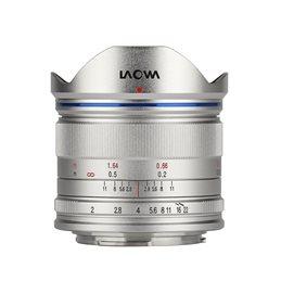 LAOWA VENUS OPTICS 7.5mm F2 MFT ARGENTO LEGGERO | Fcf Forniture Cine Foto