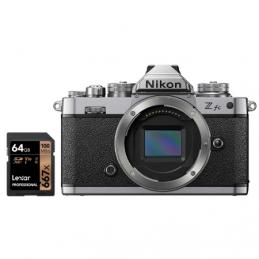 NIKON Z FC BODY + SD 64GB 667 PRO LEXAR - GARANZIA 4 ANNI NITAL | Fcf Forniture Cine Foto