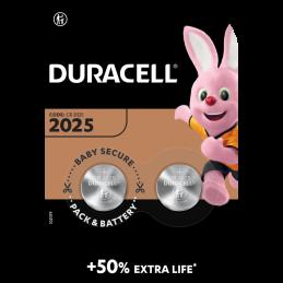 DURACELL BATTERIA CR 2025 | Fcf Forniture Cine Foto