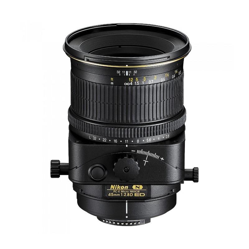 NIKON PC-E MICRO 45mm F2.8D ED - GARANZIA 4 ANNI NITAL | Fcf Forniture Cine Foto