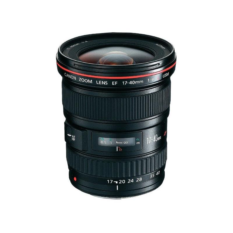 CANON EF 17-40mm F4.0 L USM - GARANZIA CANON ITALIA | Fcf Forniture Cine Foto