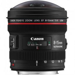 CANON EF 8-15mm F4.0 L USM FISHEYE - GARANZIA CANON ITALIA | Fcf Forniture Cine Foto