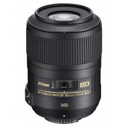 NIKON AF-S DX MICRO NIKKOR 85mm F3.5G ED VR - GARANZIA 4 ANNI NITAL | Fcf Forniture Cine Foto