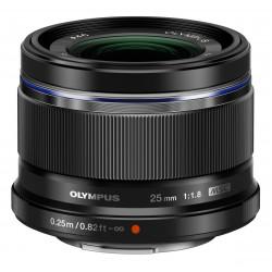 OLYMPUS M.ZUIKO DIGITAL 25mm F1.8 BLACK | Fcf Forniture Cine Foto