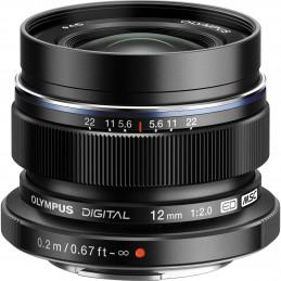 OLYMPUS M.ZUIKO DIGITAL ED 12mm F2.0 BLACK | Fcf Forniture Cine Foto